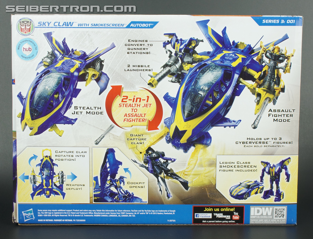 Transformers Prime Beast Hunters Cyberverse Sky Claw (Image #7 of 83)