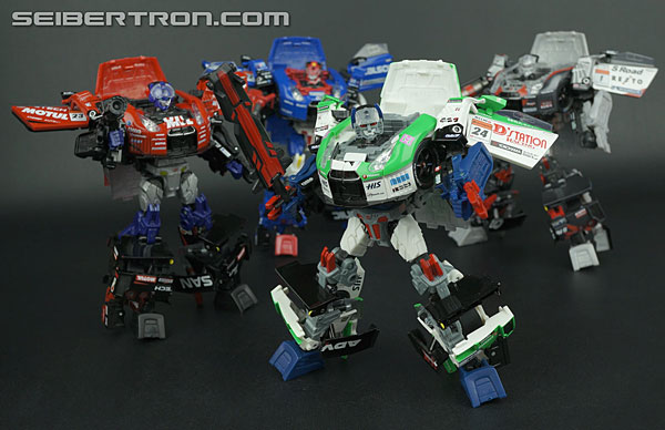 Transformers News: New Galleries: Transformers GT: Mission GT-R GT-04 Maximus and GT-Sister Hiiro