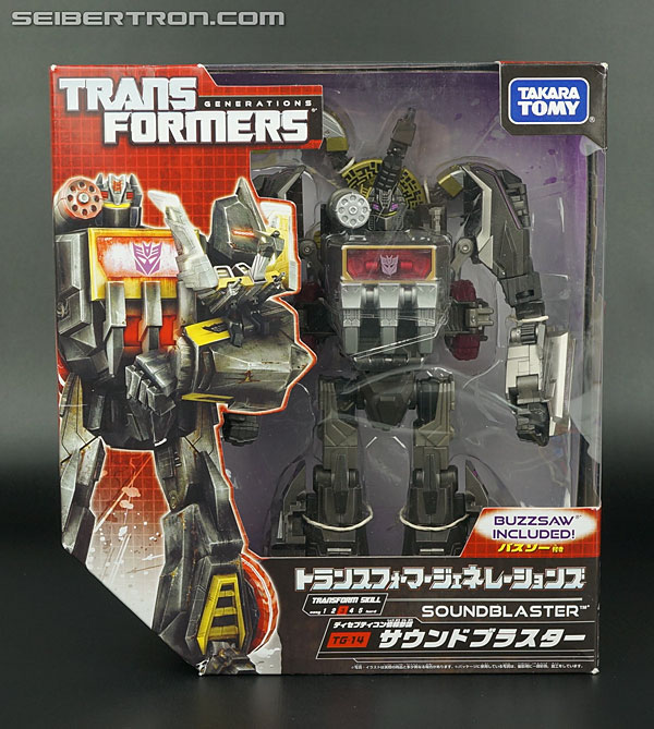 Transformers News: New Galleries: Takara Tomy Generations Soundwave, Soundblaster, Blaster and Data Discs!