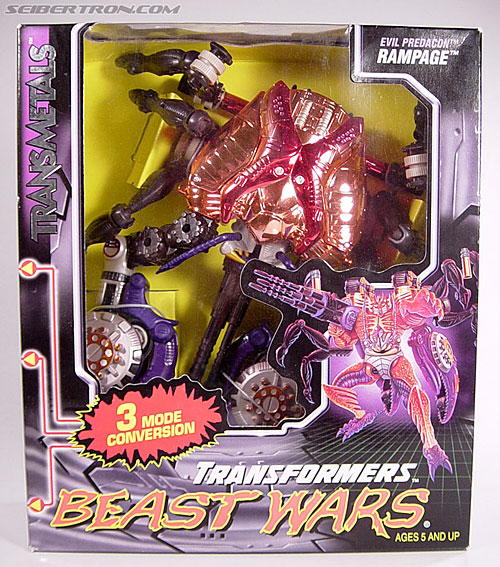 Transformers Beast Wars Metals Rampage (Image #1 of 163)