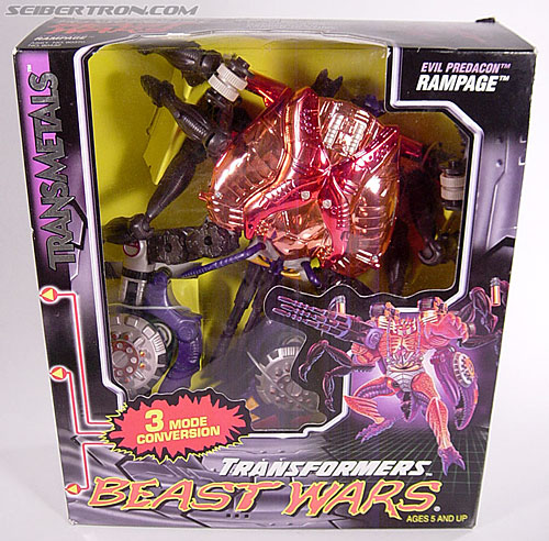 Transformers Beast Wars Metals Rampage (Image #2 of 163)