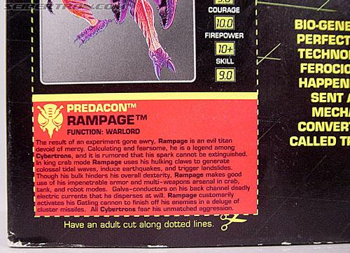 Transformers Beast Wars Metals Rampage (Image #14 of 163)
