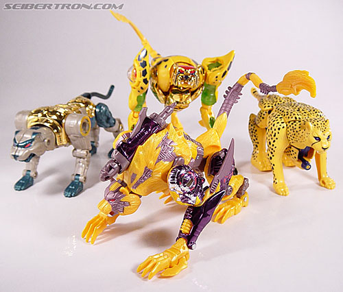 Transformers Beast Wars Metals Cheetor Toy Gallery (Image ...