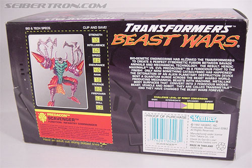 Transformers Beast Wars Metals Scavenger (Inferno) (Image #7 of 107)