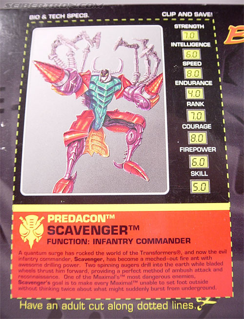 Transformers Beast Wars Metals Scavenger (Inferno) (Image #8 of 107)