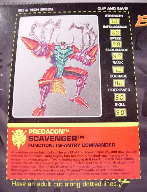 Transformers Beast Wars Metals Scavenger (Inferno) (Image #8 of 107)