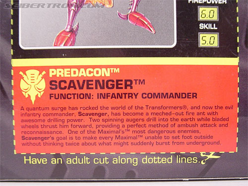 Transformers Beast Wars Metals Scavenger (Inferno) (Image #9 of 107)