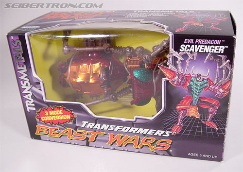 Transformers Beast Wars Metals Scavenger (Inferno) (Image #14 of 107)