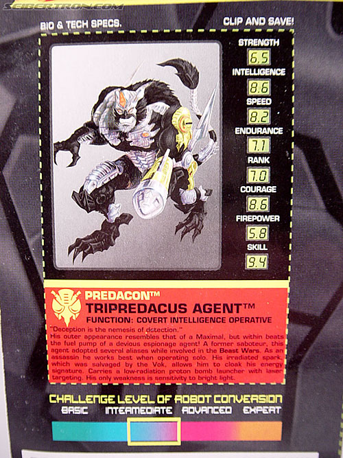 Transformers Beast Wars Metals Tripredacus Agent (Image #7 of 81)