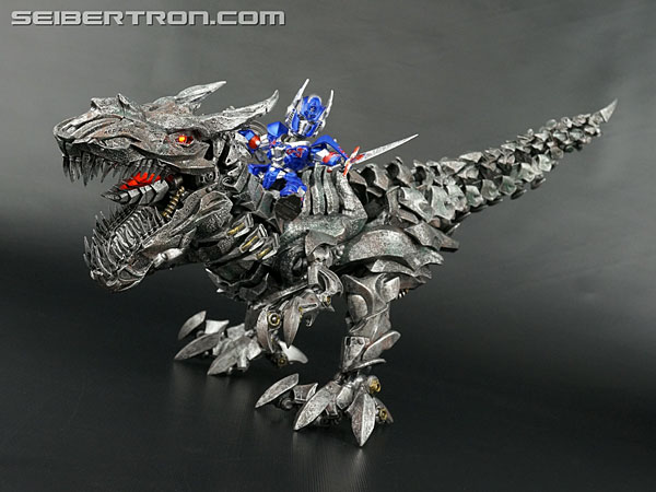 Transformers News: New Galleries: Kids Logic Transformers Mecha Nations MN11 Age of Extinction Grimlock + Optimus Prime