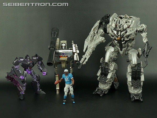 Transformers News: New Galleries: Nike CJ81 Megatron and Playmakers Calvin Johnson