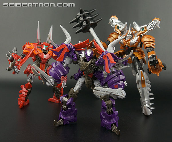 Transformers News: New Galleries: Transformers Age of Extinction Deluxe Dinobot Slug