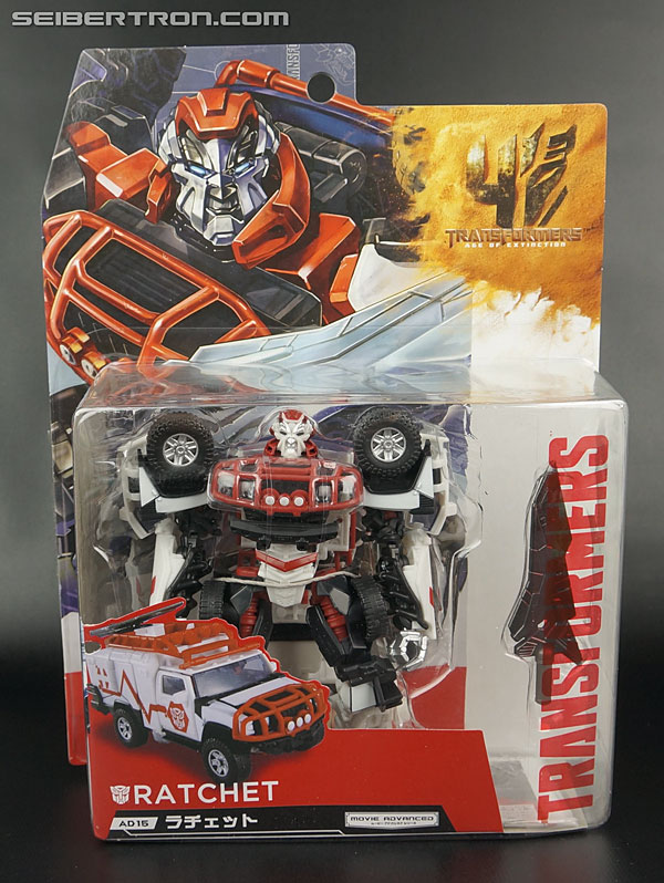 Transformers News: New Gallery: Age of Extinction Movie Advanced AD-15 Ratchet from Takara Tomy