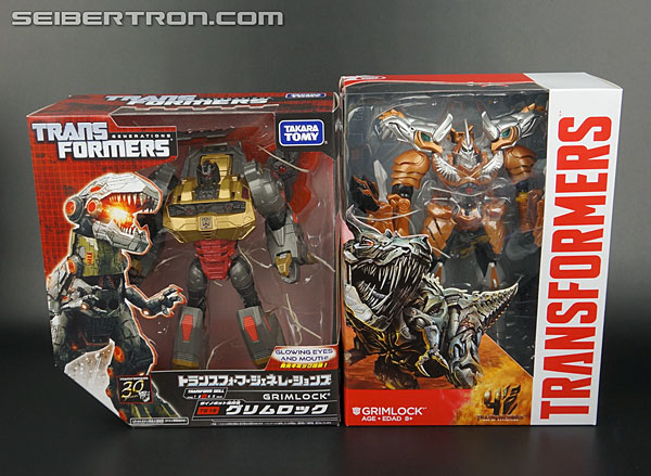 Transformers News: New Gallery: Age of Extinction Generations Voyager Grimlock