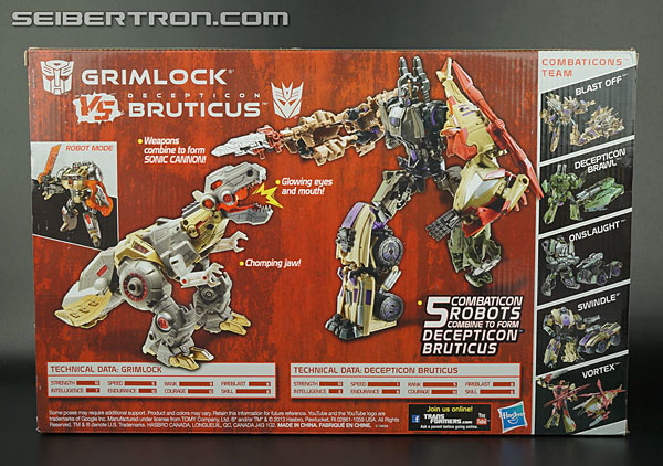 Transformers News: New Gallery: Transformers Platinum Edition Voyager Grimlock