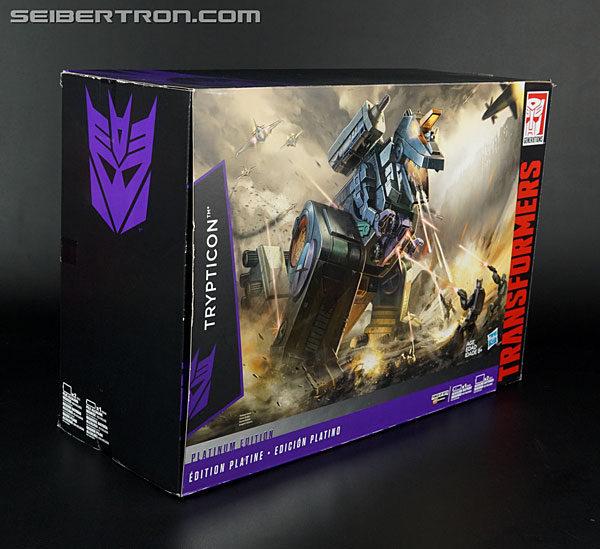 Transformers News: New Galleries: Platinum Edition Trypticon with Full-Tilt and Brunt #Transformers