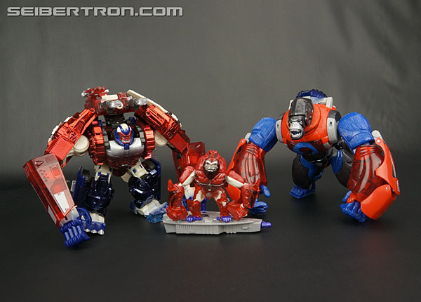 Transformers News: New Gallery: Transformers Platinum Edition Year of the Monkey Optimus Primal