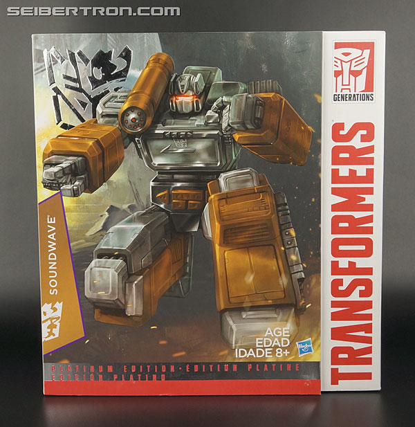 Transformers News: New Galleries: Platinum Edition Year of the Goat Soundwave with Cassettes