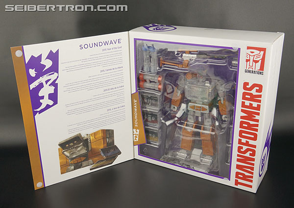 Transformers News: Masterpiece Platinum Year of the Goat Soundwave Art by Marcelo Matere