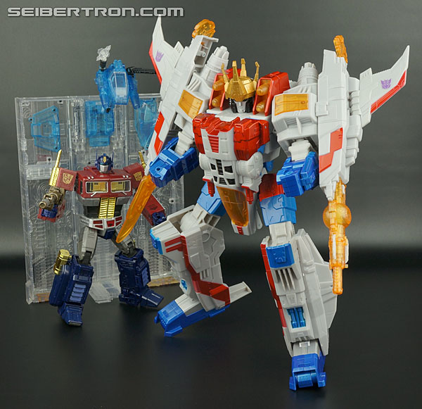 Transformers News: New Gallery: Platinum Edition Year of the Horse Supreme Starscream