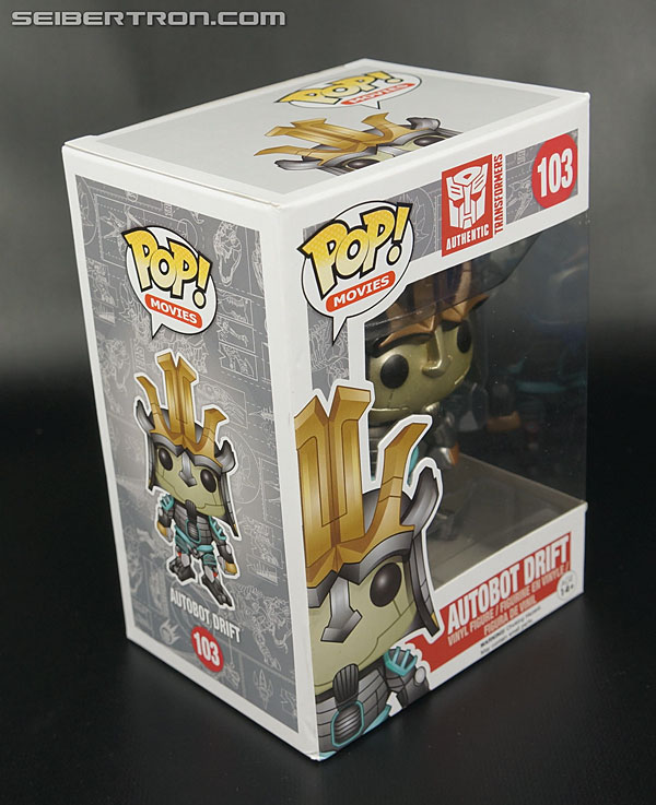 Transformers News: New Galleries: Funko Pop! Age of Extinction Optimus Prime, Bumblebee and Drift