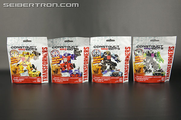 Transformers News: New Galleries: AOE Construct-Bots Dinobot Riders Lockdown, Drift, Bumblebee, and Optimus Prime