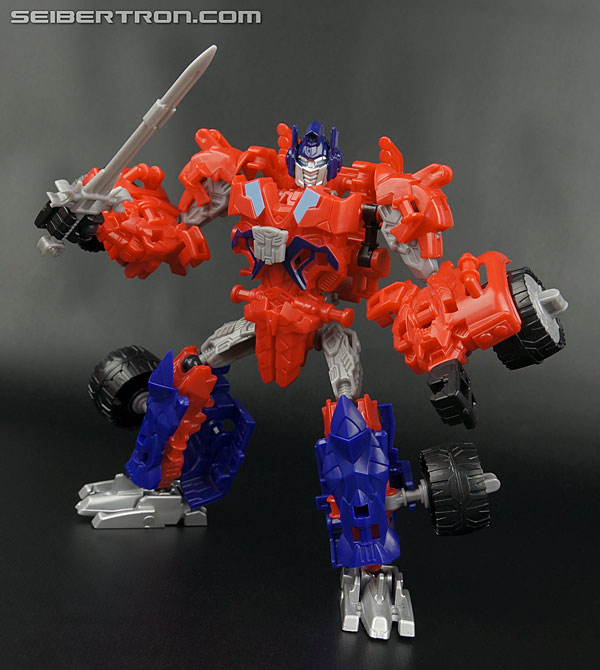 Transformers News: New Galleries: Transformers Age of Extinction Construct-Bots Dinobot Warriors Optimus Prime and Gnaw