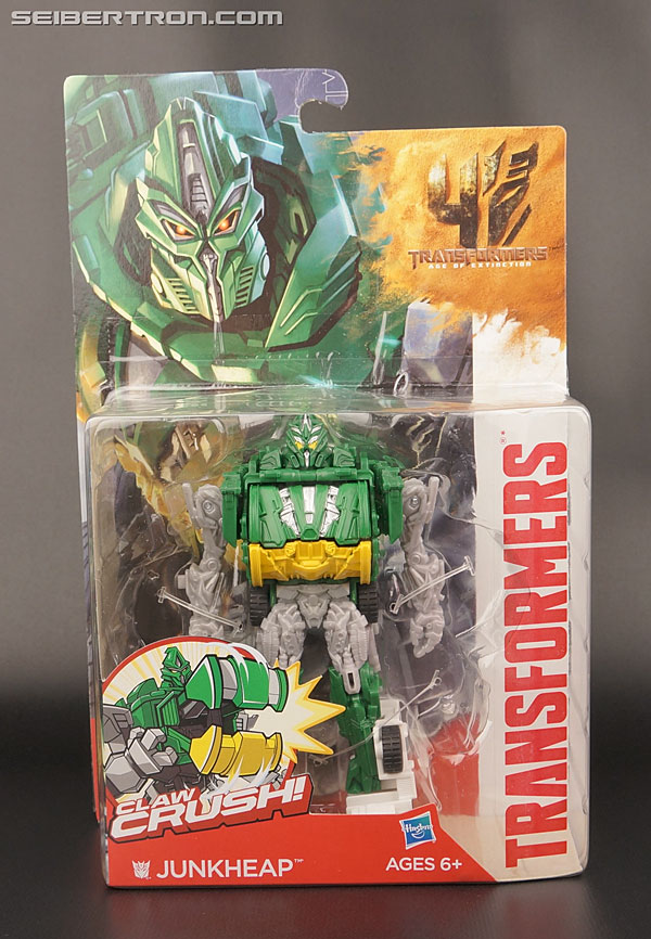 Transformers News: New Galleries: AOE Power Attackers Claw Crush Junkheap