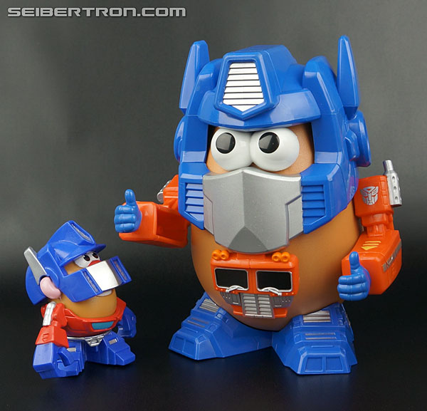 Transformers News: New Galleries: Mr. Potato Head Optimus Prime, Starscream, Optimash Prime and Bumble Spud