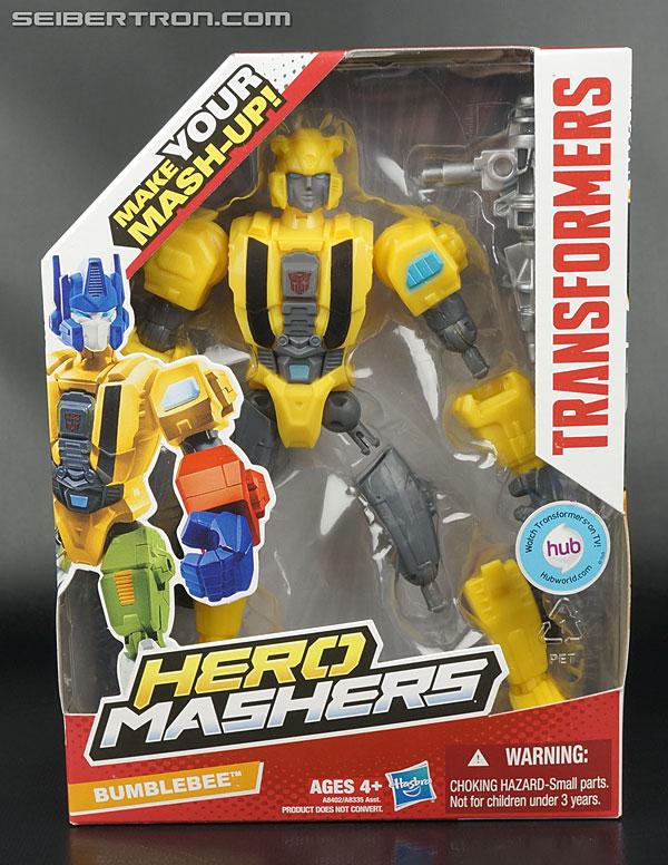 Transformers hero mashers bumblebee action figure