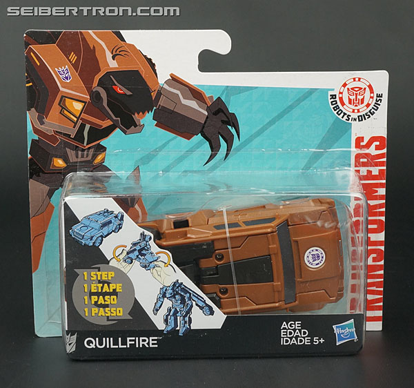 Transformers News: New Galleries: Robots In Disguise 1-Steps Springload, Quillfire, Patrol Mode Strongarm, Gold Armor G