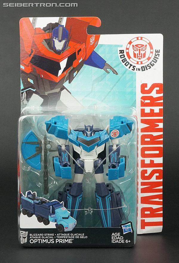 Transformers News: New Galleries: Robots In Disguise Warrior Class Blizzard Strike Drift, Blizzard Strike Optimus Prime