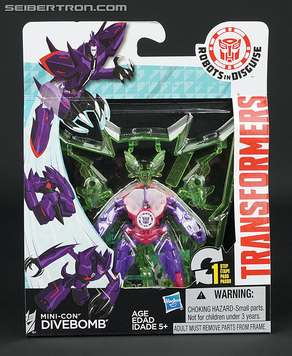 Transformers News: New Galleries: Robots In Disguise Mini-Cons Slipstream, Divebomb, Sawback, & Dragonus