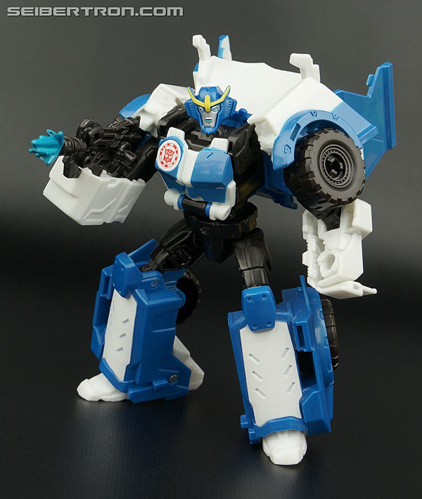 Transformers News: New Galleries: Robots In Disguise Warrior Class Strongarm, Steeljaw, Grimlock, and Bumblebee