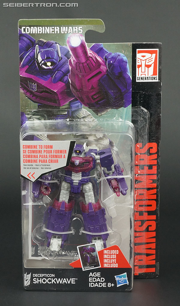 Hasbro Transformers Combiner Wars Decepticon Shockwave Legends Class US Seller