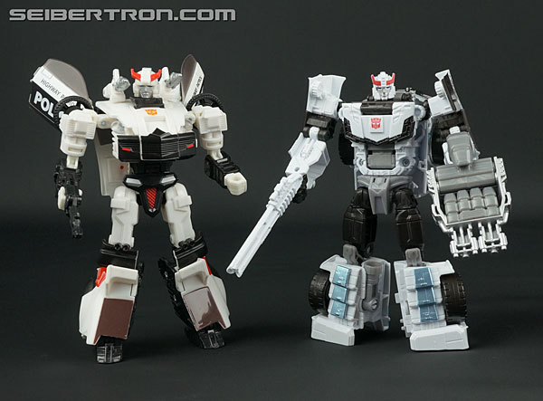 Transformers News: New Galleries: Combiner Wars Prowl, Mirage, Ironhide, Sunstreaker and Ultra Prime