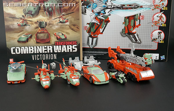 Transformers News: Unboxing Video and Teaser Gallery of Combiner Wars Victorion and the Rust Renegades