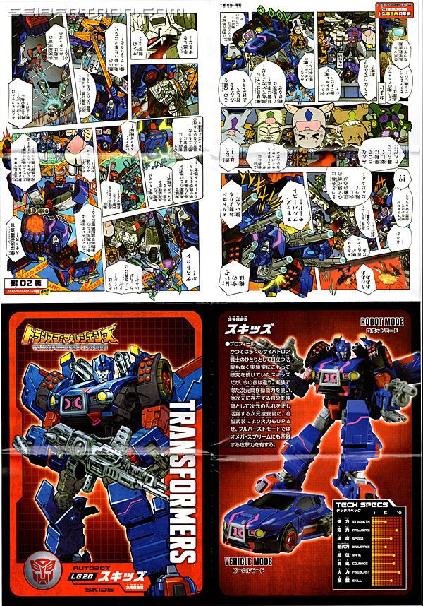 Transformers News: New Gallery: Transformers Legends LG-20 Skids