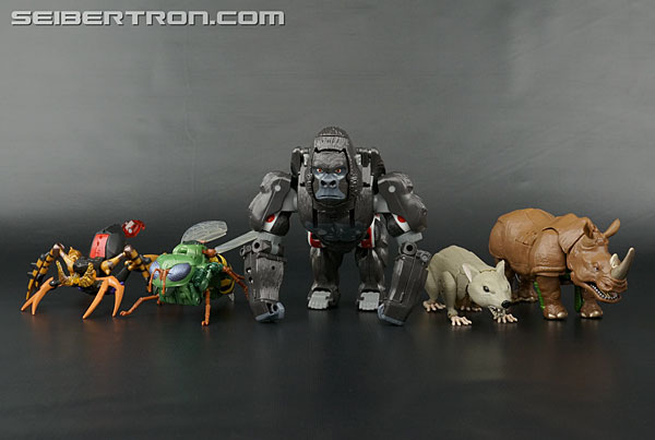 Transformers News: New Galleries: Transformers Legends LG-EX Rhinox, Waspinator and Rattrap