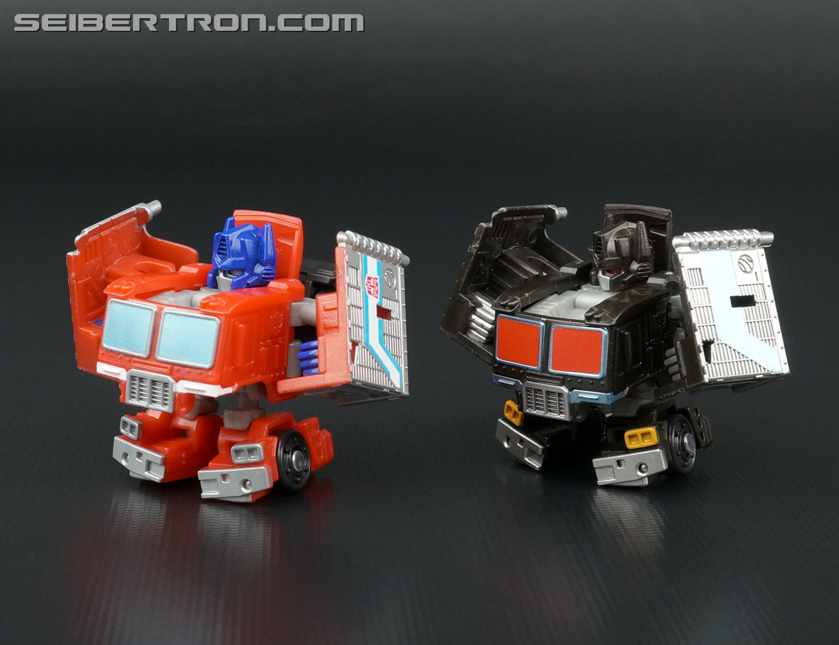 Q-Transformers Black Convoy (Black Optimus Prime) (Image #67 of 78)