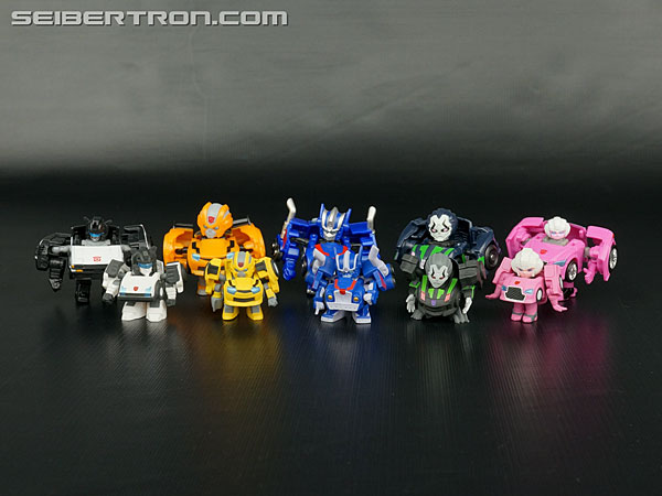 Transformers News: New Galleries: Q-Transformers Gashapon Capsule Optimus Prime, Bumblebee, Lockdown, Jazz and Arcee