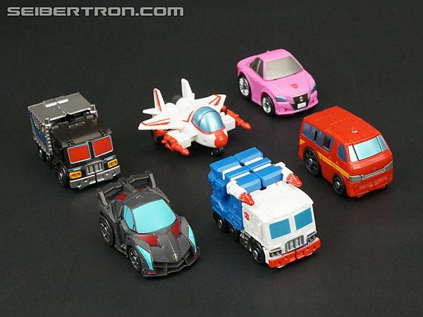 Q-Transformers Black Convoy (Black Optimus Prime) (Image #25 of 78)