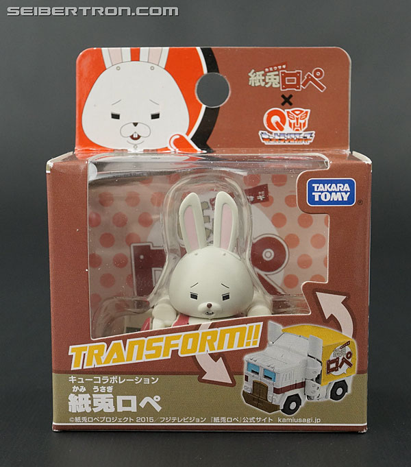 Transformers News: New Galleries: Q-Transformers QTC03 Kamiusagi Rope, QTC04 Akira Senpai, QTC07 Evangelion Unit Awaken