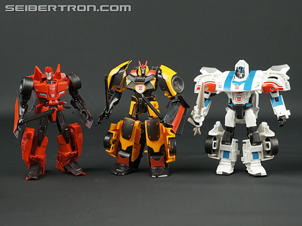 Transformers News: New Galleries: Adventures TAV18 Drift, TAV22 Sideswipe, and TAV23 Jazz
