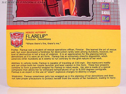 Transformers BotCon Exclusives Flareup (Image #6 of 81)
