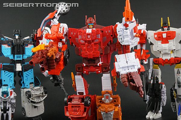 Transformers News: New Galleries: Unite Warriors UW-08 Technobots Combiner Computron Set