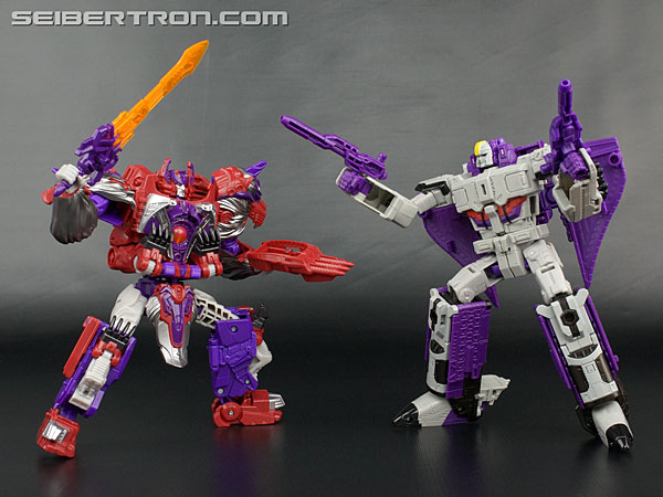 Transformers News: New Galleries: Titans Return Voyager Alpha Trion with Sovereign