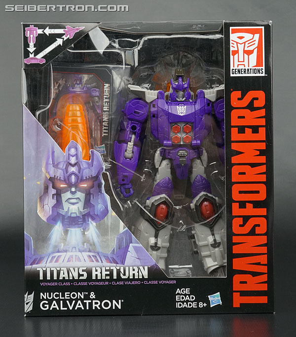 Transformers News: New Galleries: Titans Return Voyager Galvatron with Nucleon