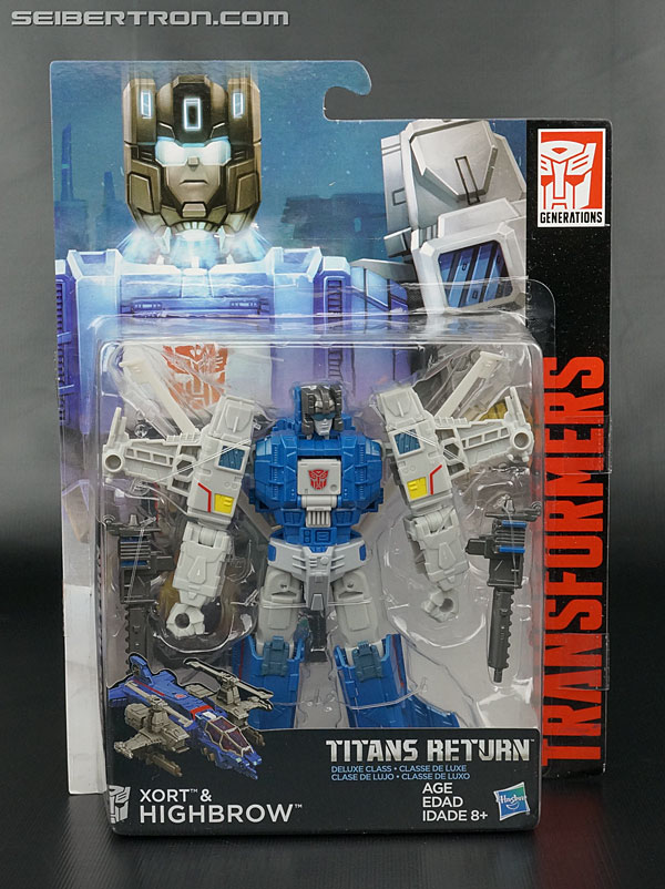 Transformers News: New Galleries: Titans Return Chromedome, Highbrow, Titan Force Brainstorm and Legends LG-21 Hardhead