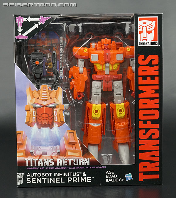 Transformers News: New Galleries: Transformers Titans Return Sentinel Prime with Infinitus